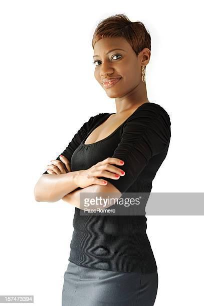 Modern cool black woman