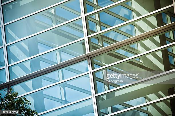 Modern Corporate Glass Architecture