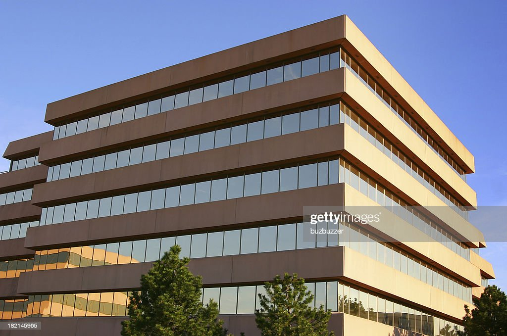 Modern Corporate Head Office Building : Stock Photo