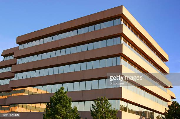 modern corporate head office building - generic location stock pictures, royalty-free photos & images