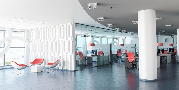Modern corporate workspace 1139892278