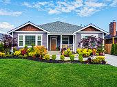 Modern Custom Suburban Home Exterior