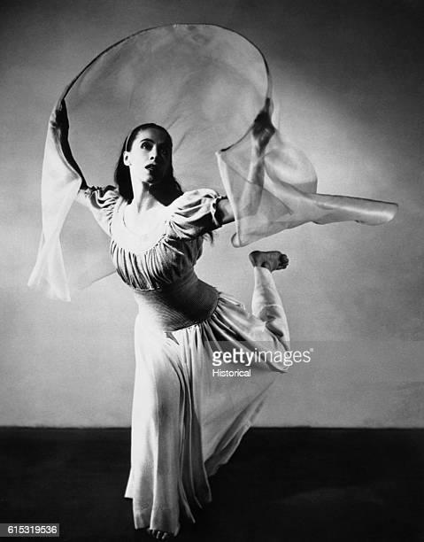 Modern dance pioneer Martha Graham performs El Penitente by Martha Graham