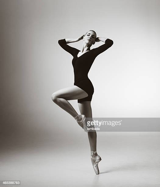 modern dancer - leotard stock pictures, royalty-free photos & images
