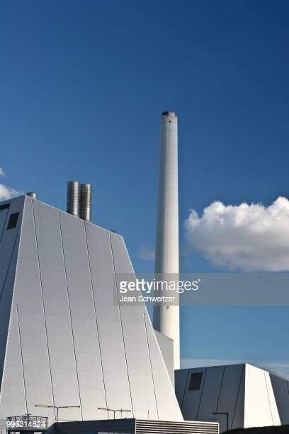 Modern District heating plant in Denmark