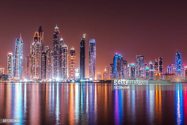 Modern Dubai Marina Skyscrapers, United Arab Emirates