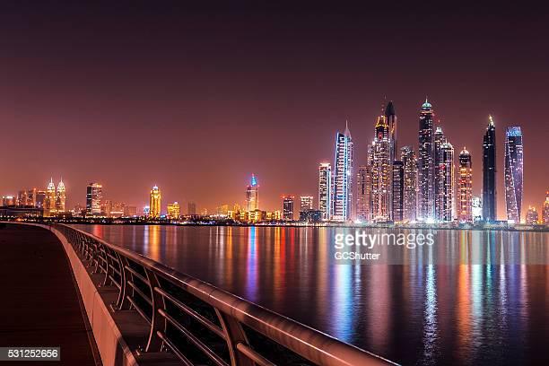 Modern Dubai Marina, View from Palm Jumeriah