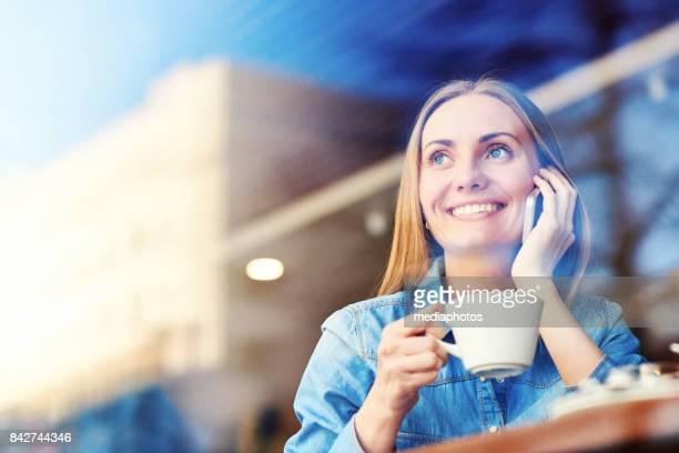 Modern enterprising business lady