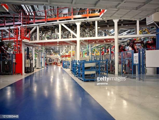 fabbrica moderna - industria foto e immagini stock