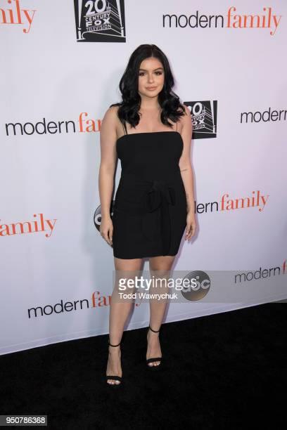 FAMILY 'Modern Family' cast members Julie Bowen Ty Burrell Jesse Tyler Ferguson Eric Stonestreet Sarah Hyland Nolan Gould and Ariel Winter talk about...