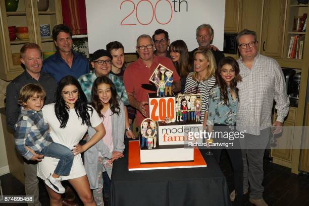 FAMILY Modern Family celebrates its milestone 200th episode Celebration JESSE TYLER FERGUSON JEREMY MAGUIRE ARIEL WINTER STEVE LEVITAN RICO RODRIGUEZ...