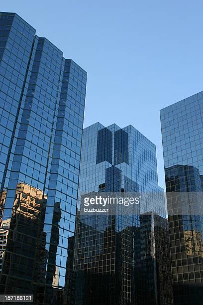 Modern Financial District