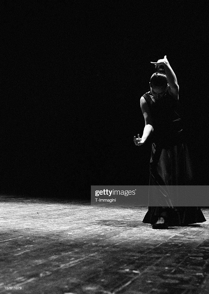 Modern flamenco : Stock Photo
