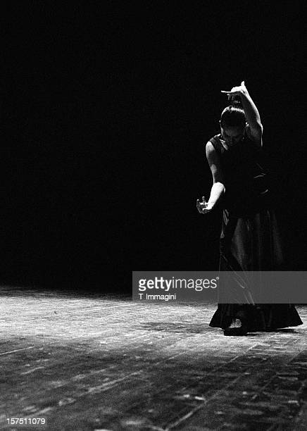 modern flamenco - flamenco dancing stock photos and pictures