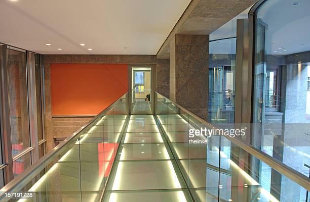 Moderne Etage in finance building