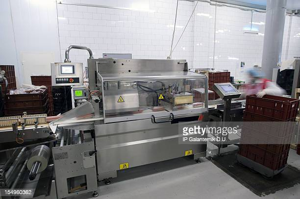 A modern Food Packaging Production Line
