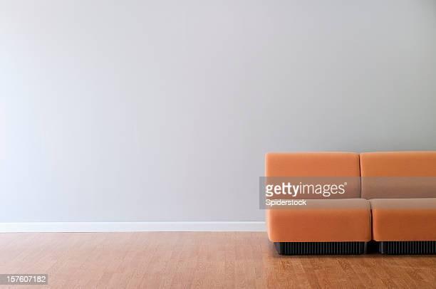 Moderne Möbel In leeren Raum