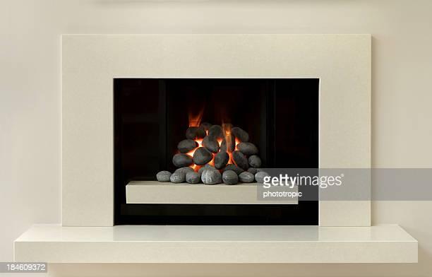 modern gas fire