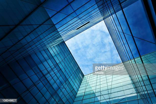 modern glass architecture - building exterior stock pictures, royalty-free photos & images