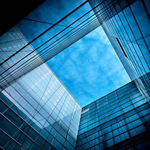 Modern Glass Architecture Wall Art