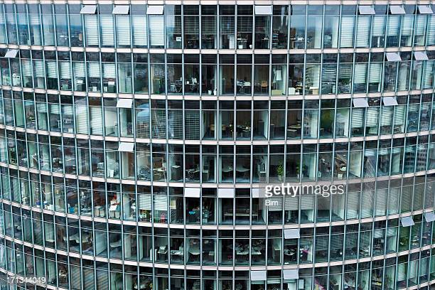 Modern Glass Building, Berlin, Germany