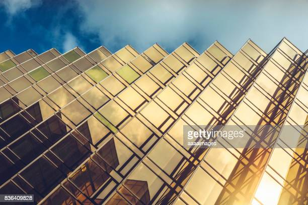 modern glass building,detail shot - wall building feature stock pictures, royalty-free photos & images