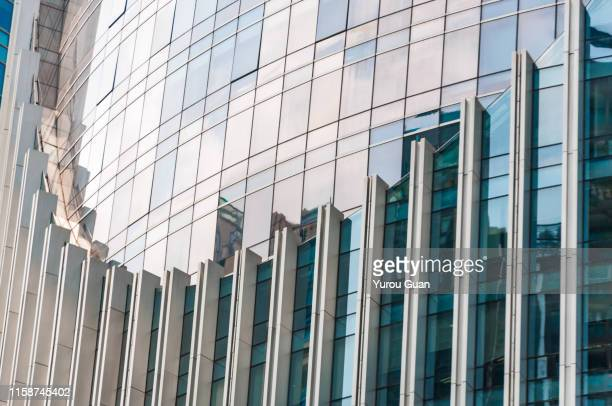 modern glass skyscraper in guangzhou central business district ( cbd). - bank financial building stock pictures, royalty-free photos & images