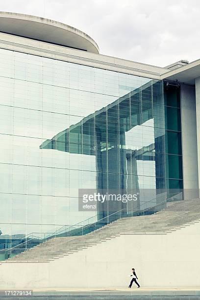 Moderne Government Gebäude in Berlin