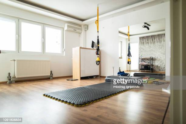 modern gym - mat stock pictures, royalty-free photos & images