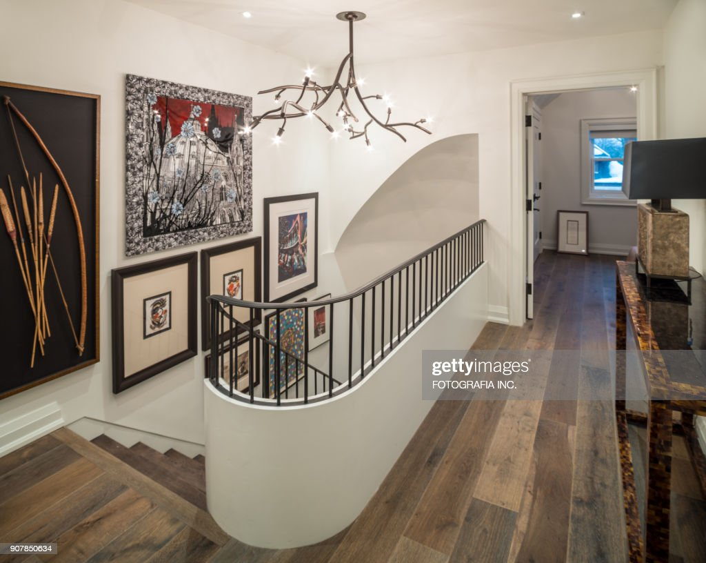 Modern Hallway Interior : Stock Photo