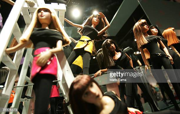 Modern handmade dolls are seen on display at The Alexander Doll Company November 17 2004 in New York City The company was founded in 1923 and opened...
