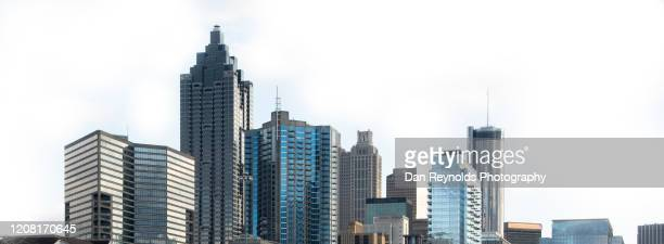 modern hdr cityscape, atlanta, georgia, usa - atlanta georgia ストックフォトと画像
