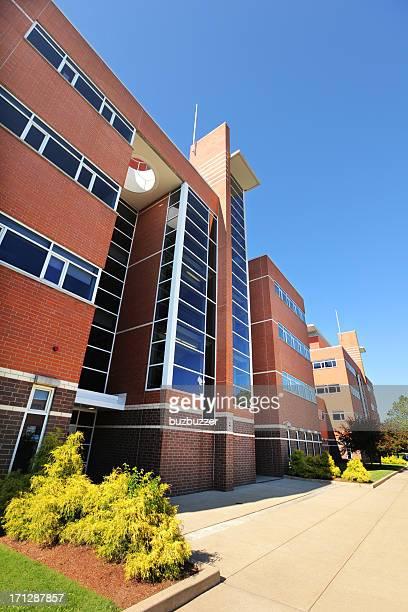 Modern High School Building