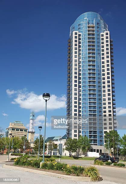 Modern Highrise Apartment Building