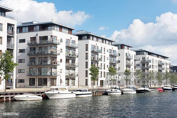 Modern home in Copenhagen, Denmark.