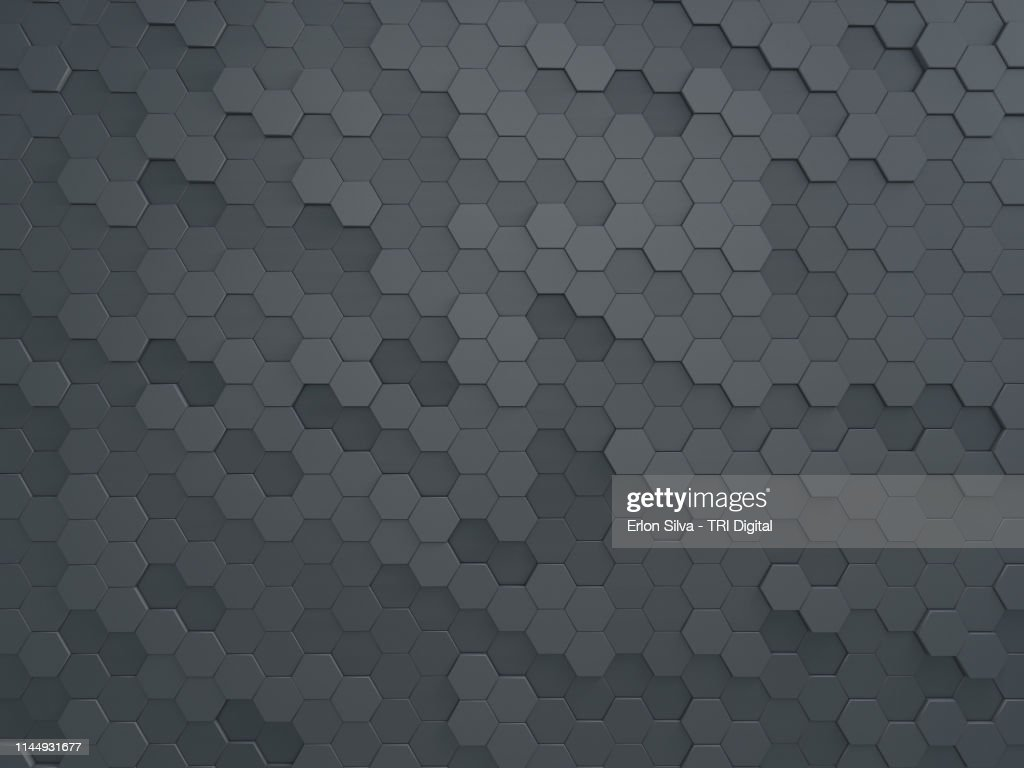 Modern honeycomb wall made for graphic design background : Stock Photo