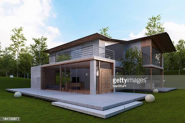 Casa moderna esterno