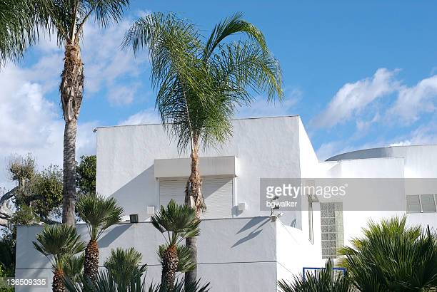 modern house - beverly hills stock pictures, royalty-free photos & images