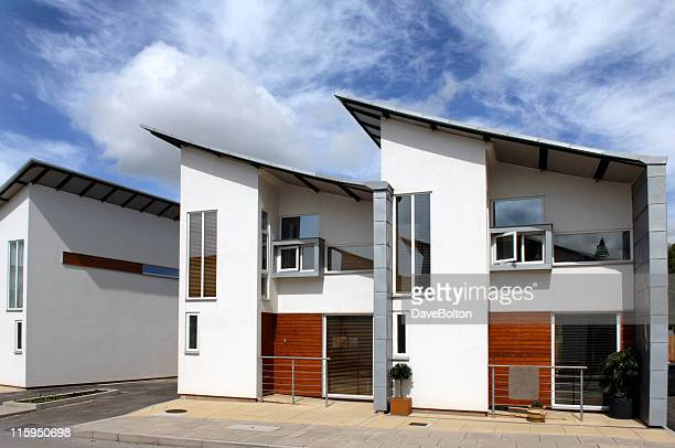 modern housing - housing development stock pictures, royalty-free photos & images