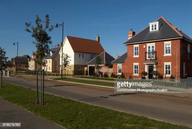 Modern housing, UK.