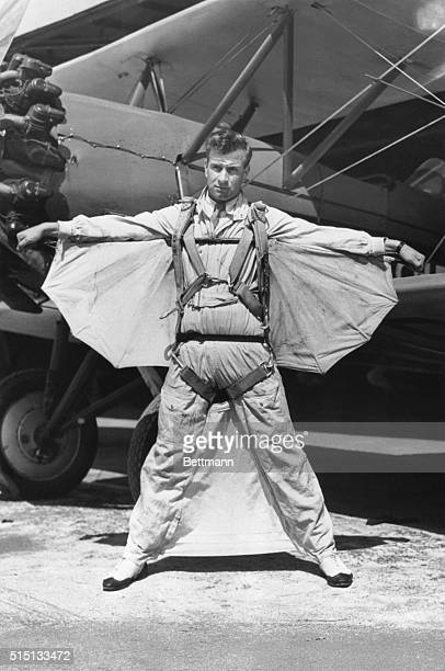Modern Icarus He flew threw the air with the greatest of ease and without the aid of mechanical motivation Donning homemade wings and webbing of his...