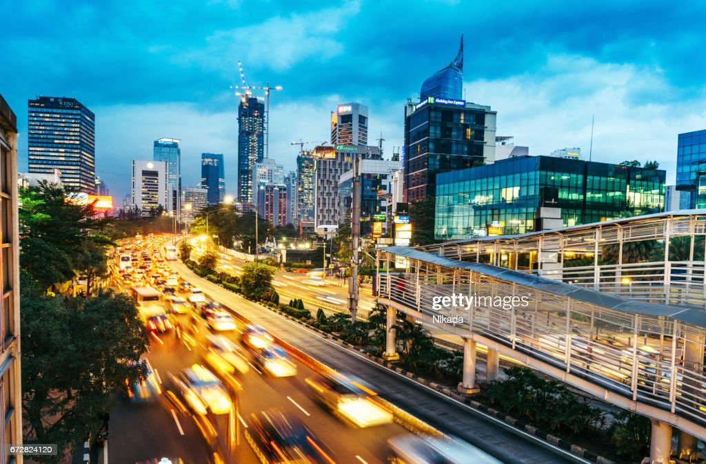 Modern Indonesia Capital City Jakarta High Res Stock Photo Getty Images
