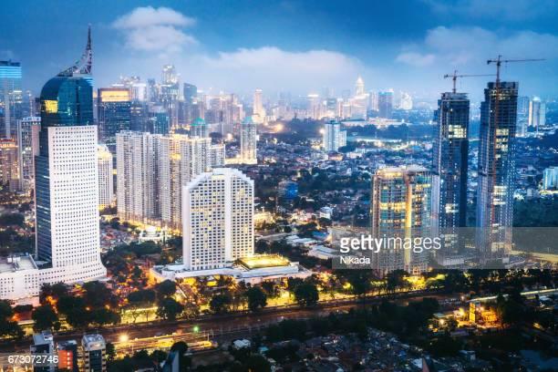 modern indonesia capital city Jakarta