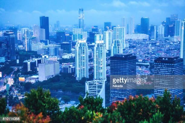 moderne Indonesië hoofdstad Jakarta