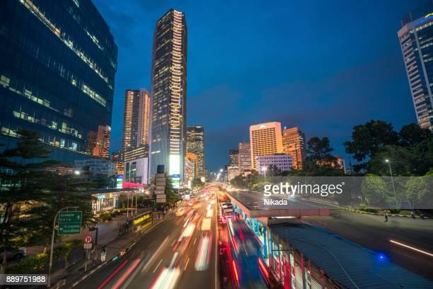 moderne Indonesien Hauptstadt Jakarta