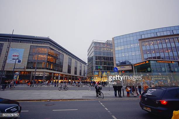 Modern inner city of Dresden
