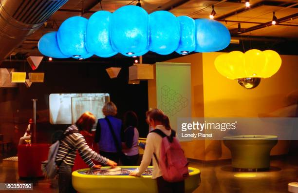 nemo modern interactive science museum. - nemo museum stock pictures, royalty-free photos & images