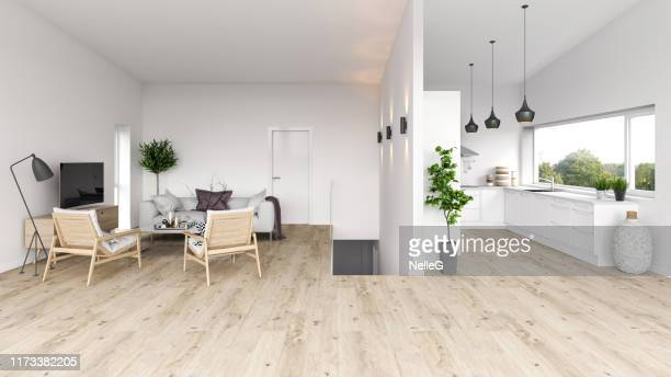 modern interior apartmen - beige stock pictures, royalty-free photos & images