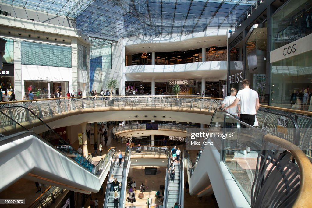 a601e3cefd9d Modern interior architecture of the Selfridges Building in... News ...