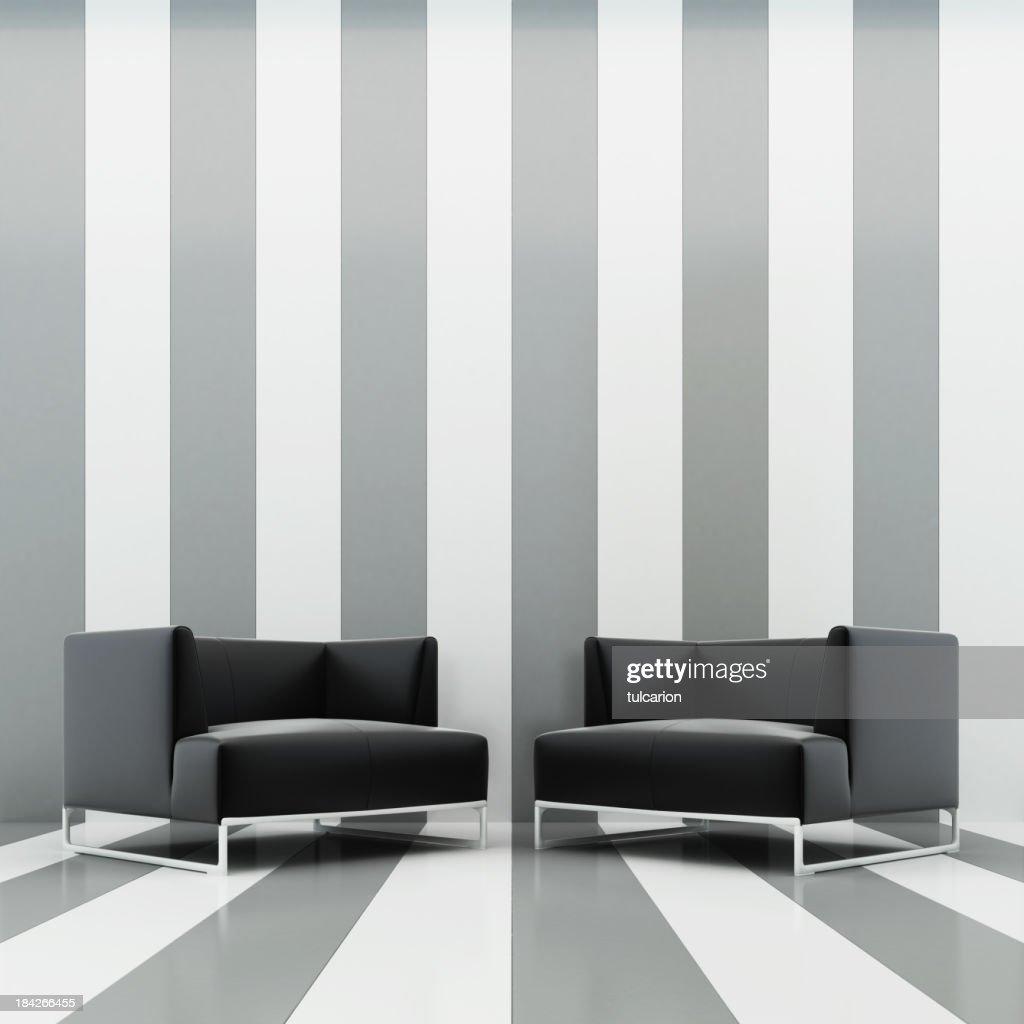 Modern Interior Lounge : Stock Photo